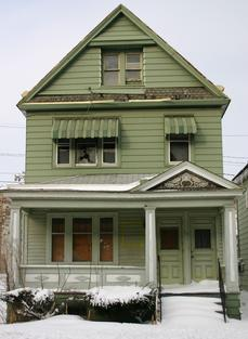 210 Gibson Street: GONE - Fire & Demo; March 2011. City records show this house being owned by BRIAN NORRIS
