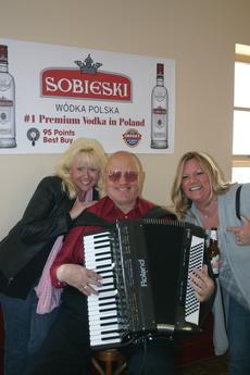 Ted Kania, frequent member of the Forgotten Buffalo Orchestra. All Polonia Pride Tours include music by a LIVE polka band! Ted is always a hit with the ladies.