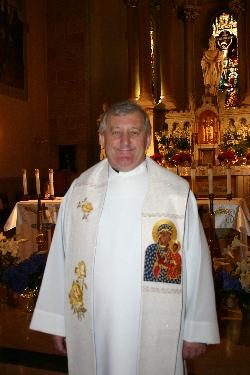 Current pastor Tadeusz Bocianowski is proud of his parish, its history and architecture.