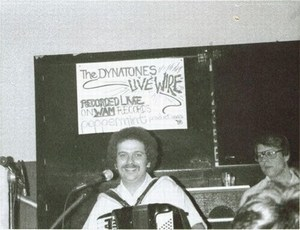 Click image to learn about the 1982 Live Wire recordings - Dynatones