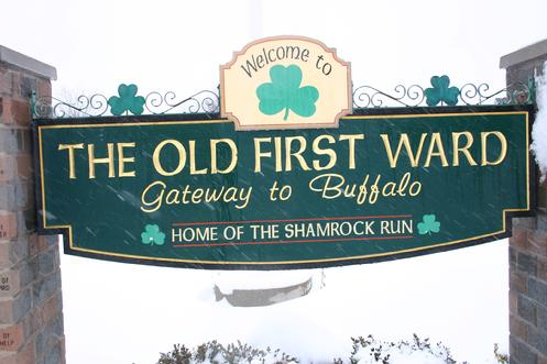 Click image to learn about the famous Shamrock Run in the First Ward