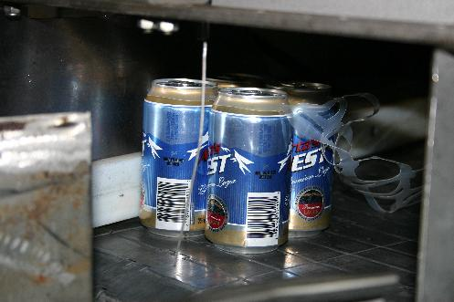 Six-pack packaging process