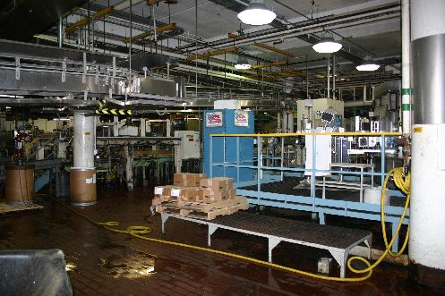 Bottling Works - cases of Dundee were on the line during our visit