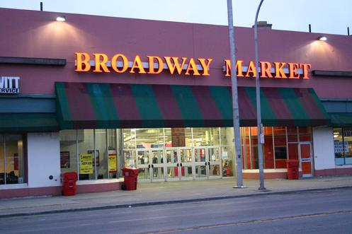 The Broadway Market - 999 Broadway, The City of Buffalo's ONLY indoor, 12-month public market - Click image to learn more