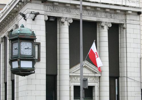Flags in Polonia: April 2011