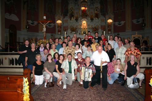 August 2010 - Forgotten Buffalo's Pride of Polonia Tour stops at Corpus Christi Church.