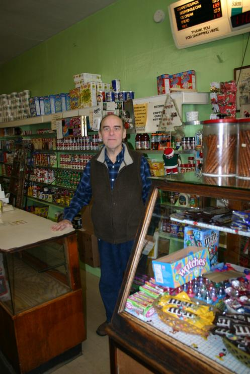 Owner, 69, was born upstairs of the store and has carried on the family tradition started by his parents