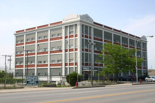 In 1919, Mentholatum finished building a factory on Niagara Street in Buffalo, New York, where it would remain until 1998, when it moved to Orchard Park. (image taken June 2011)