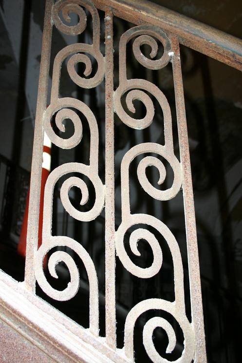 Detail of the Trolley Lobby staircase