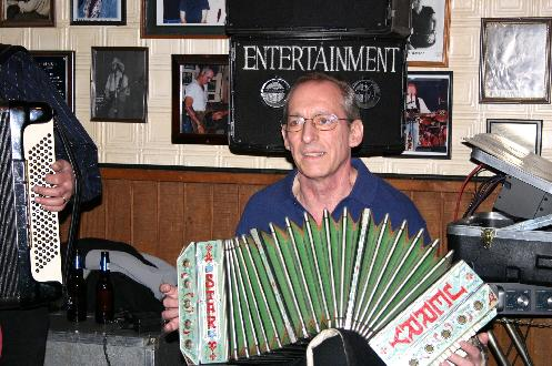 Polka Hall of Fame member Jerry Darlak
