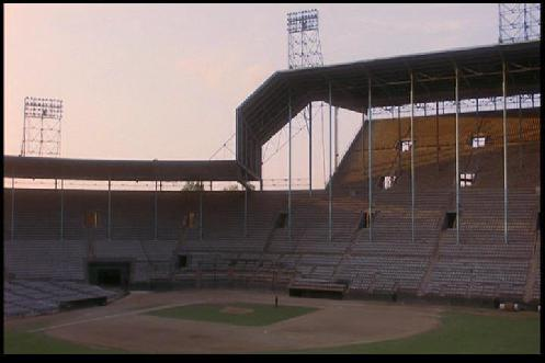 Image from film: The Rockpile NEVER looked better than it did in 1983 as it played Knights Field (1983)