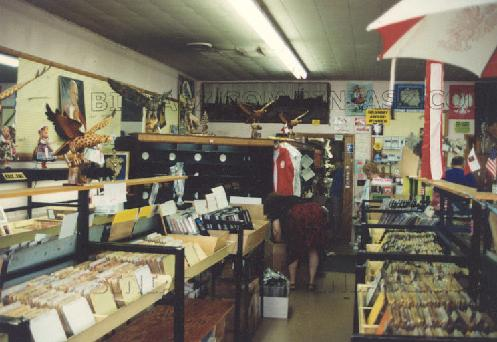 Inside Broadway store. Until is closed in the 90s, the store was held a treasure trove of 45s, rare polka records and great Polish gifts