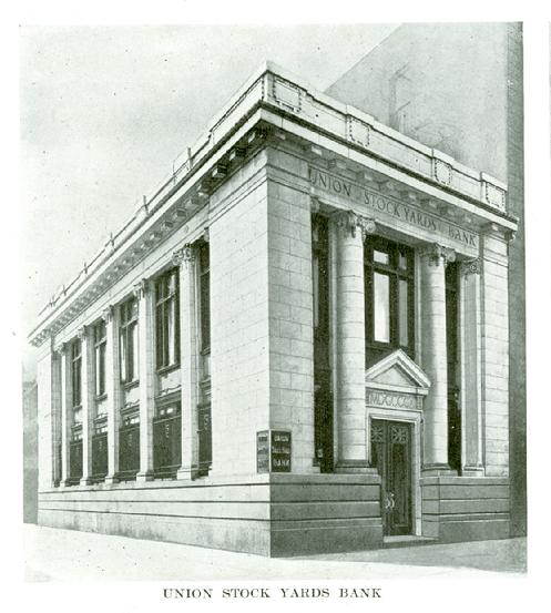 Built in 1909-1910, this building at Broadway & Fillmore Avenue was the second home of the Union Stock Yard Bank. Click image to learn more about the Buffalo Stock Yards.